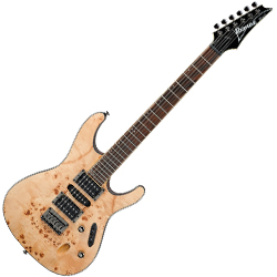 Ibanez S771PB-NTF S Series 6 String Electric Guitar in Natural Flat Finish (discontinued clearance)