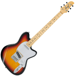 Ibanez TM1702M-TFB Talman Prestige Series 6 String Electric Guitar in Tri Fade Burst Finish-discontinued clearance