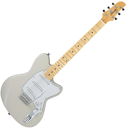 Ibanez TM1730M-VWH Talman Prestige Series 6 String Electric Guitar in Vintage White Finish-discontinued clearance
