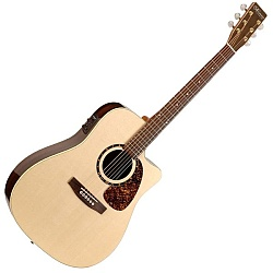 Norman 031672 Studio ST68 Acoustic Electric RH Guitar 6 String with case (discontinued clearance)