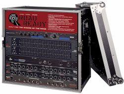 """Road Ready RR12UED 12U Deluxe Effect Rack Case - 14"""" body depth"""