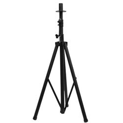 American Audio SPS1-B Tripod Speaker Stand Black holds 80 lbs