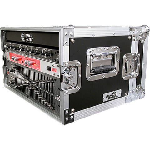 "Road Ready RR6UED 6U Deluxe Effect Rack Case - 14"" body depth"