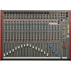 Allen & Heath ZED-22FX 16 Mono 3 Stereo channel Mixer with USB in out and effects