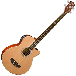 Washburn AB5K 4 String Acoustic Electric Bass (discontinued clearance)