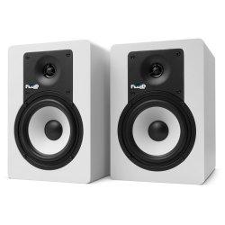 "Fluid Audio C-5W Classic Series 5"" Powered Studio Monitor (Pair) - White"