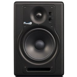 "Fluid Audio F4 (Pair) - 4"" Active Studio Reference Monitors - Black"