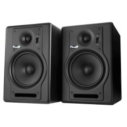 Fluid Audio F5 (Pair) 5-Inch 2 way Studio Reference Monitors -Black