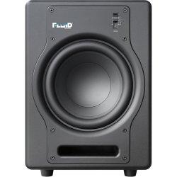 "Fluid Audio F8S - 200W 8"" Active Studio Reference Subwoofer - Black"