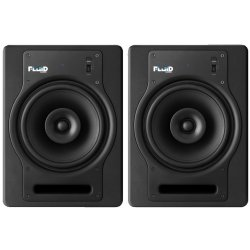 Fluid Audio FX8 8-Inch Coaxial 2 way Studio Reference Monitor - Black