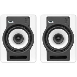 Fluid Audio FX8W 8-Inch Coaxial 2 way Studio Reference Monitor - White