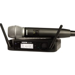 Shure GLXD24/SM86-Z2 Wireless Handheld System with SM86 Microphone