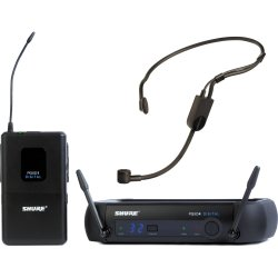 Shure PGXD14/PGA31 PGX-D Digital Headworn Wireless System with PGA31 Headset Microphone