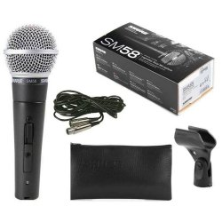 Shure SM58-CN Vocal Microphone with Cable