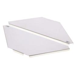 American DJ PRO-SHELF Aluminum Corner Shelf for Pro Event Table-Pair