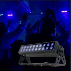 American DJ UV-LED-BAR20-IR Backlight with UC IR Remote Control