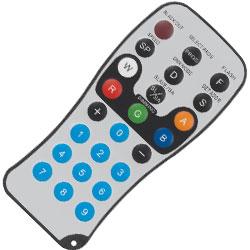 American DJ ADJ-LED-RC2 Infrared Remote Control for ADJ Flat Par Lights