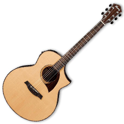 Ibanez AEW22CD-NT AEW Series 6 String Acoustic Electric Guitar in Natural High Gloss (Discontinued Clearance)