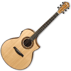 Ibanez AEW23ZW-NT AEW Series 6 String Acoustic Electric Guitar in Natural High Gloss (Discontinued Clearance)