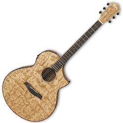 Ibanez AEW40AS-NT AEW Series 6 String Acoustic Electric Guitar in Natural High Gloss (discontinued clearance)