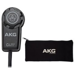 AKG C411L Stringed Instrument Microphone with Mini XLR Connection