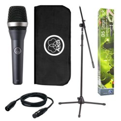 AKG D5 Stage Pack Vocal Dynamic Microphone, Super-Cardiod