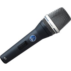 AKG D7S Dynamic Microphone Supercardiod Pattern with on/off switch