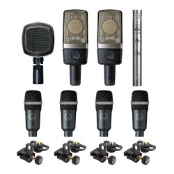 akg drumset premium reference drum microphone set acclaim sound and lighting canada. Black Bedroom Furniture Sets. Home Design Ideas