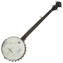 Alabama ALB60B2 5 String Banjo Open Back and Vintage Headstock