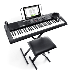 Alesis Melody 61 MKII 61-Key Portable Keyboard Package with Built-In Speakers