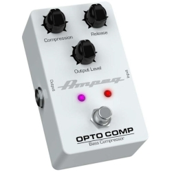 Ampeg OPTO COMP Analogue Optical Compressor Bass Effects Pedal
