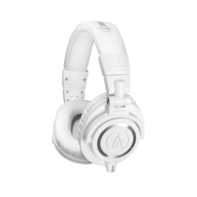 Audio-Technica ATH-M50XWH Monitor Headphones - White