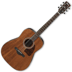 Ibanez AW54-OPN Artwood Series 6 String Acoustic Guitar in Open Pore Natural