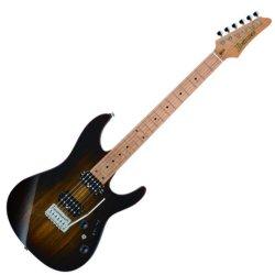 Ibanez AZ242BC-DET Premium 6 String Electric Guitar - Deep Espresso Burst