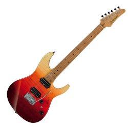 IBANEZ AZ242F TSG 6 String Electric Guitar in Soft Case - Tequila Sunrise Gradation