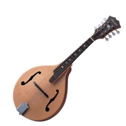 Alabama ALM30S A-Style Mandolin in Natural Matte Finish