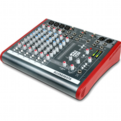 Allen & Heath ZED-10 4 Mono 2 Stereo channel Mixer with USB in out