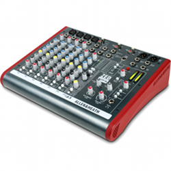 Allen & Heath ZED-10-FX 4 Mono 2 Stereo channel Mixer with USB in out and effects