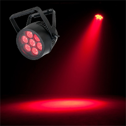 American DJ Pro 7PZ-IP Heavy Duty Metal IP65 Outdoor Rated LED Par