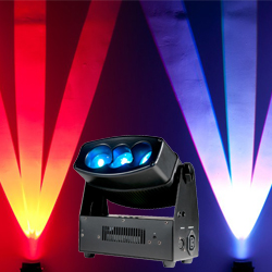 American DJ CHAMELEON-QBAR-PRO Wall Washing Effects Light with 3x30W RGBA LED Angled Lenses