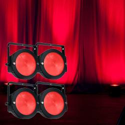 American DJ DOTZ-PAR-PAK Lighting Package with 4 DOTZ PAR Lights and DOTZ PAR RF Remote
