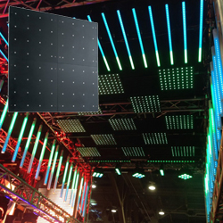 American DJ Pro FLASH-KLING-PANEL-64 8x8 Matrix Low Resolution KlingNet/Artnet LED Panel