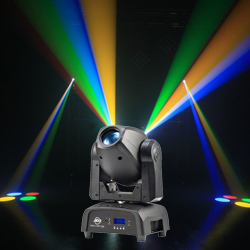 American DJ FOCUS-SPOT-ONE 35W LED Moving Head Light With Motorized Focus, Gobo Wheel and Color Wheel