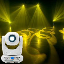 American DJ FOCUS-SPOT-THREE-Z-P 100W LED Moving Head Light with Motorized Focus and Zoom In White Casing