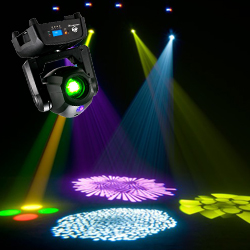 American DJ FOCUS-SPOT-TWO 75W LED Moving Head Light with Motorized Focus