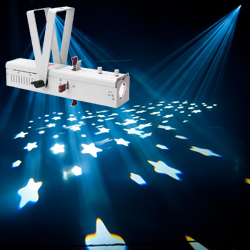 American DJ IKON-PROFILE-PEARL 32W LED GOBO Projector in White Casing