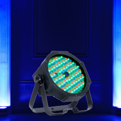 American DJ MEGA-GO-PAR64-PLUS Rechargeable Lithium Battery Powered Low Profile Par Can with RGB+UV LEDs