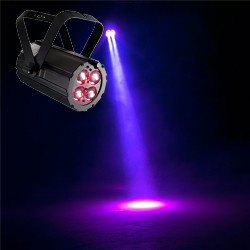 American DJ PAR-Z4 Small Compact LED Par Light with Manual Zoom