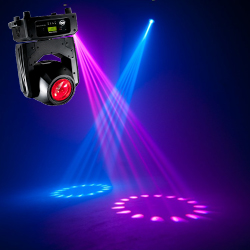 American DJ VIZI-BEAM-RXONE Compact Quick Moving Head Light with 1R HTI Long Life Lamp