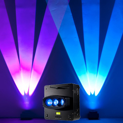 American DJ WIFLY-CHAMELEON Three Beam Uplighting LED Fixture with Pulse and Strobe Effect